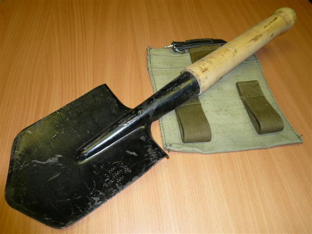 Купить саперную военую лопатку
